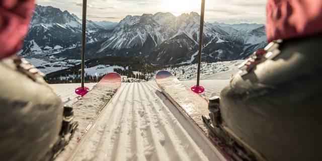 Rund um die Zugspitze auf zwei Brettern