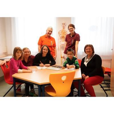 Schuluntericht im Landesklinikum Amstetten