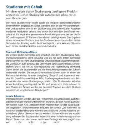 Studieren mit Gehalt