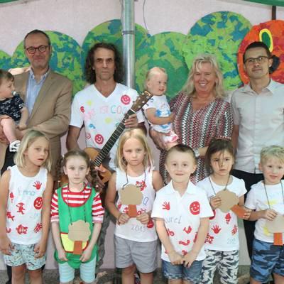 Calimero Betriebskindergarten feierte Sommerfest