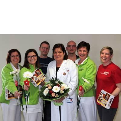 Caritas lässt Blumen sprechen