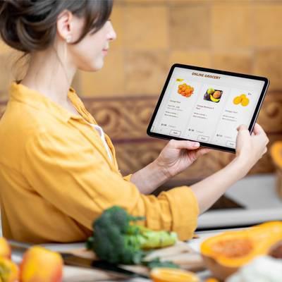 Der Online-Lebensmittelhandel steht vor dem Durchbruch