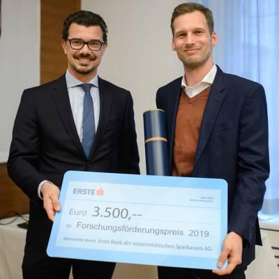 Forschungspreis für Bergmeister