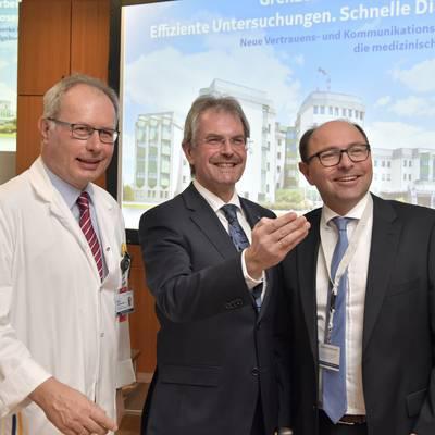 Neues Innovationsprojekt verbindet Kliniken und verbessert Patientenversorgung