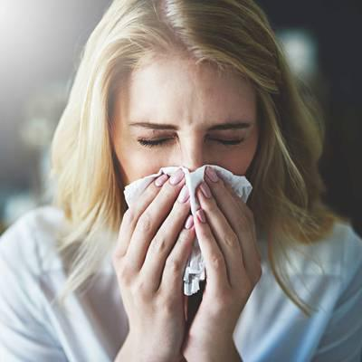 Allergische Rhinitis: