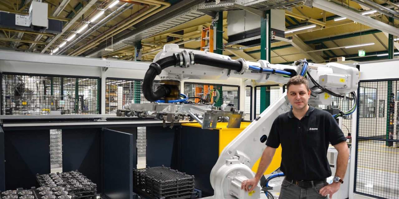 Magna's Advanced Robotics:Increased Productivity, Positive Experience