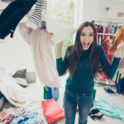 Das Geschäft mit den Kleidern