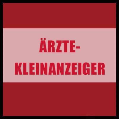 ÄRZTE-KLEINANZEIGER 2018