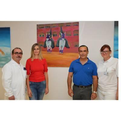 Spanischer Maler zu Gast