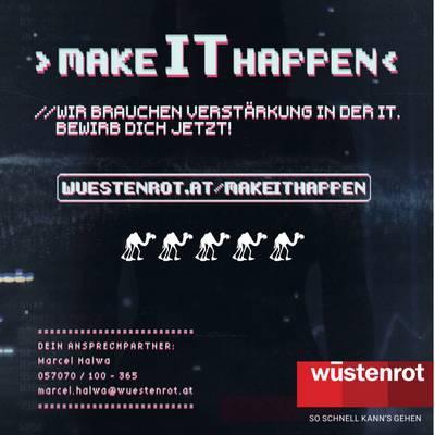 > Make IT happen <