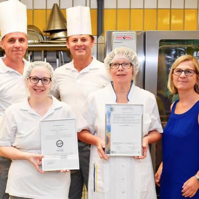 Küchen-Team ausgezeichnet