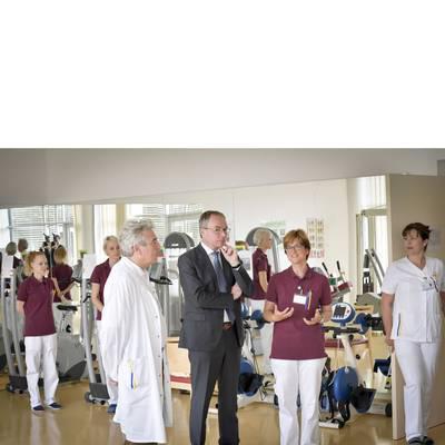 LH-Stv. Dr. Pernkopf zu Antrittsbesuch im Landesklinikum Allentsteig