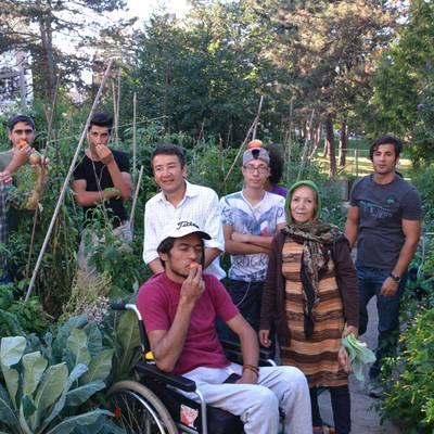 Vom Gartenprojekt zum Gesamtpaket für Flüchtlinge