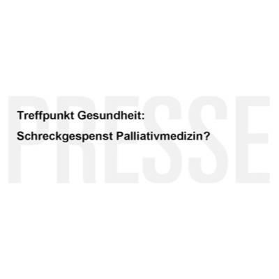 Schreckgespenst Palliativmedizin