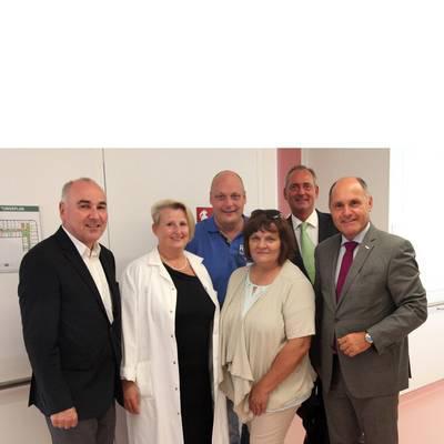 Besuch im Landesklinikum