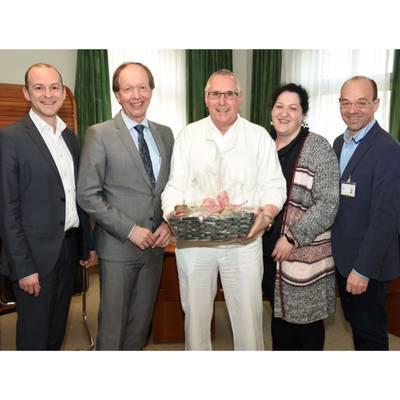 Holzer tritt Ruhestand an