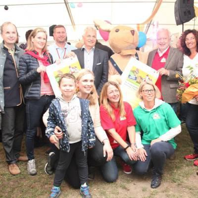 Toller Erfolg: das KinderBURGFestival lockte auch 2019 wieder hunderte Besucher zur Burg Liechtenstein