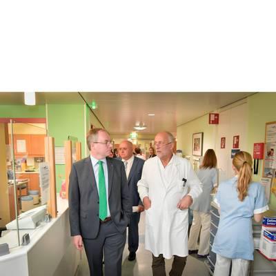 LH-Stv. Dr. Pernkopf zu Antrittsbesuch im LK Hollabrunn