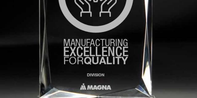 Manufacturing Excellence Award Winners