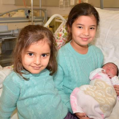 Aram ist das St.Pöltner Neujahrsbaby