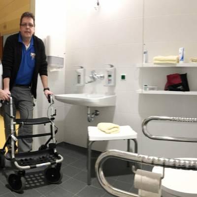 LK Scheibbs: RNS-Patienten erhalten erweiterte Nasszelle