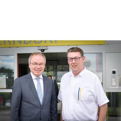 LH-Stv. Dr. Pernkopf zu Antrittsbesuch im Medizinischen Zentrum Gänserndorf