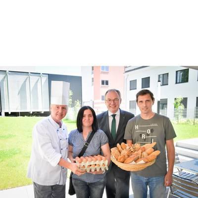 Landesklinikum Amstetten setzt auf beste heimische Lebensmittel