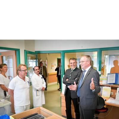 LH-Stv. Dr. Pernkopf zu Antrittsbesuch im LK Waidhofen / Thaya