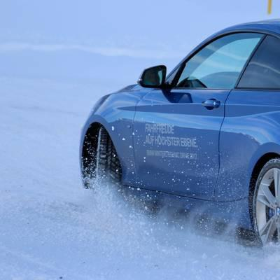BMW Winter-Technik-Drive im Ötztal