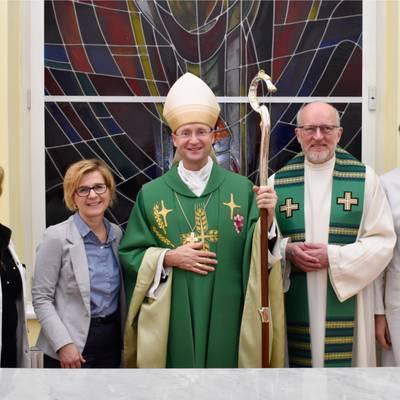 Weihbischof zu Besuch