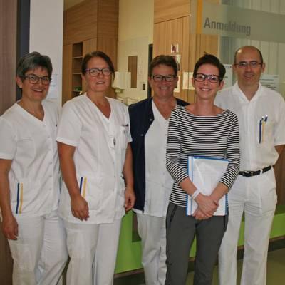 700. Patient begrüßt