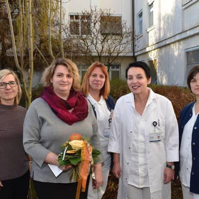 Blumengeschäft spendet an Palliativteam