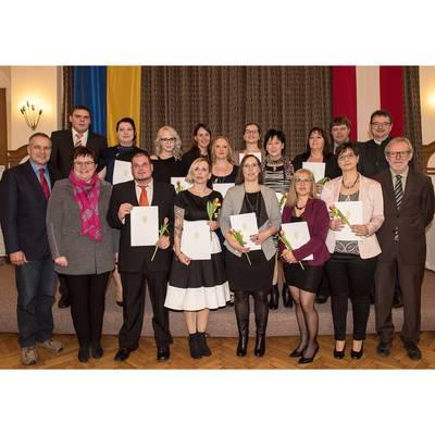 Abschlussfeier der Fachsozialbetreuerausbildung