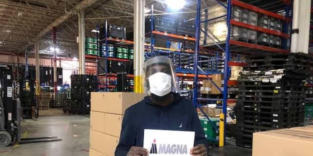 The World Needed Face Shields, and Magna Responded
