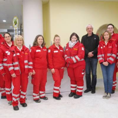 Besuch vom Roten Kreuz