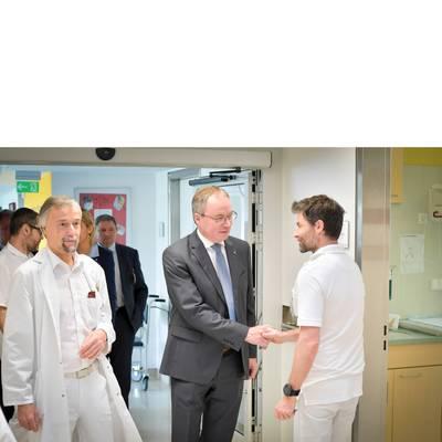 LH-Stv. Dr. Pernkopf zu Antrittsbesuch im Landesklinikum Zwettl