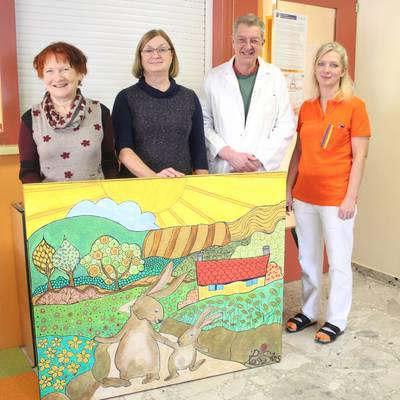 Gemälde für die Kinder- u.Jugendheilkunde des Universitätsklinikums Krems