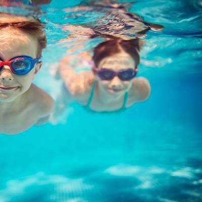 Köpfchen unter Wasser