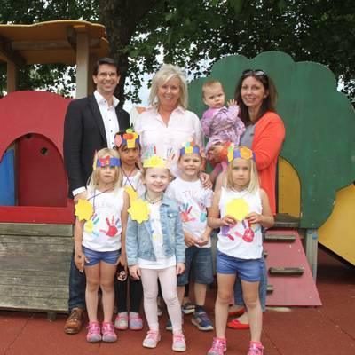 Kunterbunte Kindergartenwelt