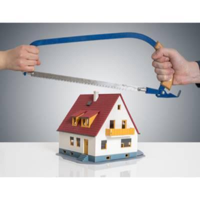 Scheiden tut weh: Was passiert mit dem Immobilienvermögen bei einer Scheidung