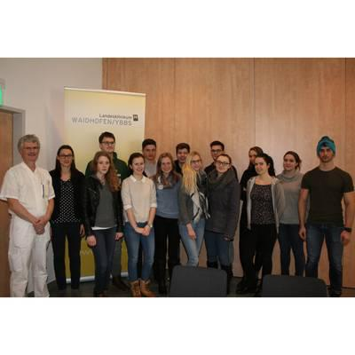 Maturanten-Information im LK Waidhofen/Ybbs
