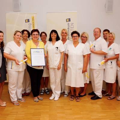 Landtagsabgeordnete gratuliert zur Patientenbefragung
