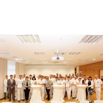Urkundenverleihung im Landesklinikum Amstetten