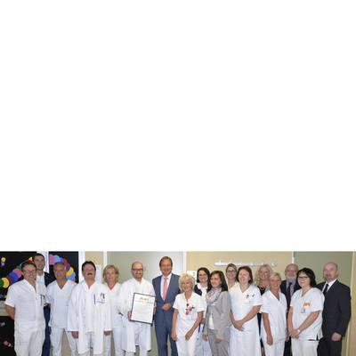 Auszeichnung für beste Augenabteilung in Niederösterreich