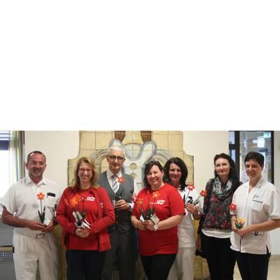 Caritas bedankt sich beim LK Hainburg