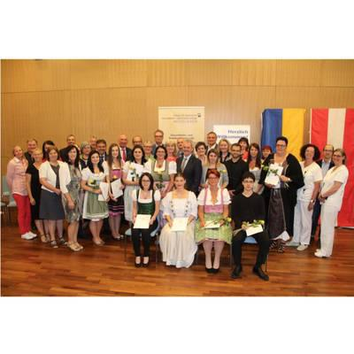 Abschlussfeier der Pflegeassistenz