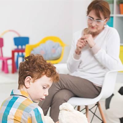 Psychotherapeutische Versorgung für Säuglinge,Kinder und Jugendliche