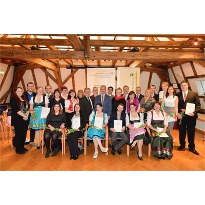 Diplom- und Abschlussfeier an der Schule für allgemeine Gesundheits- und Krankenpflege Stockerau