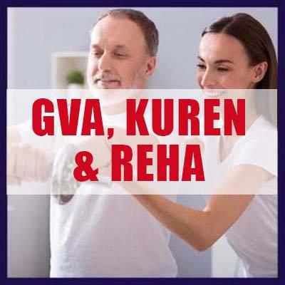 GVA, Kuren und Reha