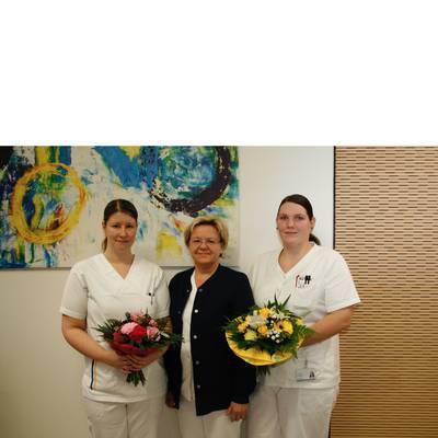 Zwei neue Praxisanleiterinnen